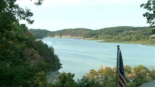 Beaver Lake seeing drought effects