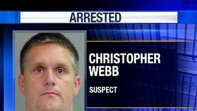 Christopher Webb Booked in Jail
