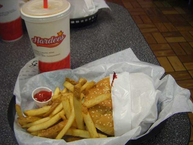 Hardee's Double Thickburger: 1250 calories