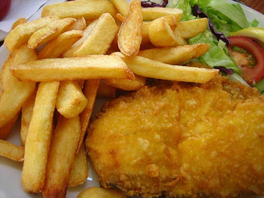 Nathan's Fish N Chips: 1537 calories