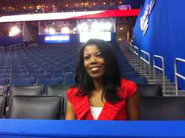 40/29 reporter Nikole Killion spotted touring the RNC convention. You can see her reporting on the week's events on 40/29 News at 5 weekdays.