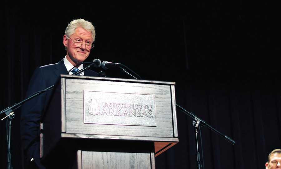 University of Arkansas Bumpers College speech, 2012