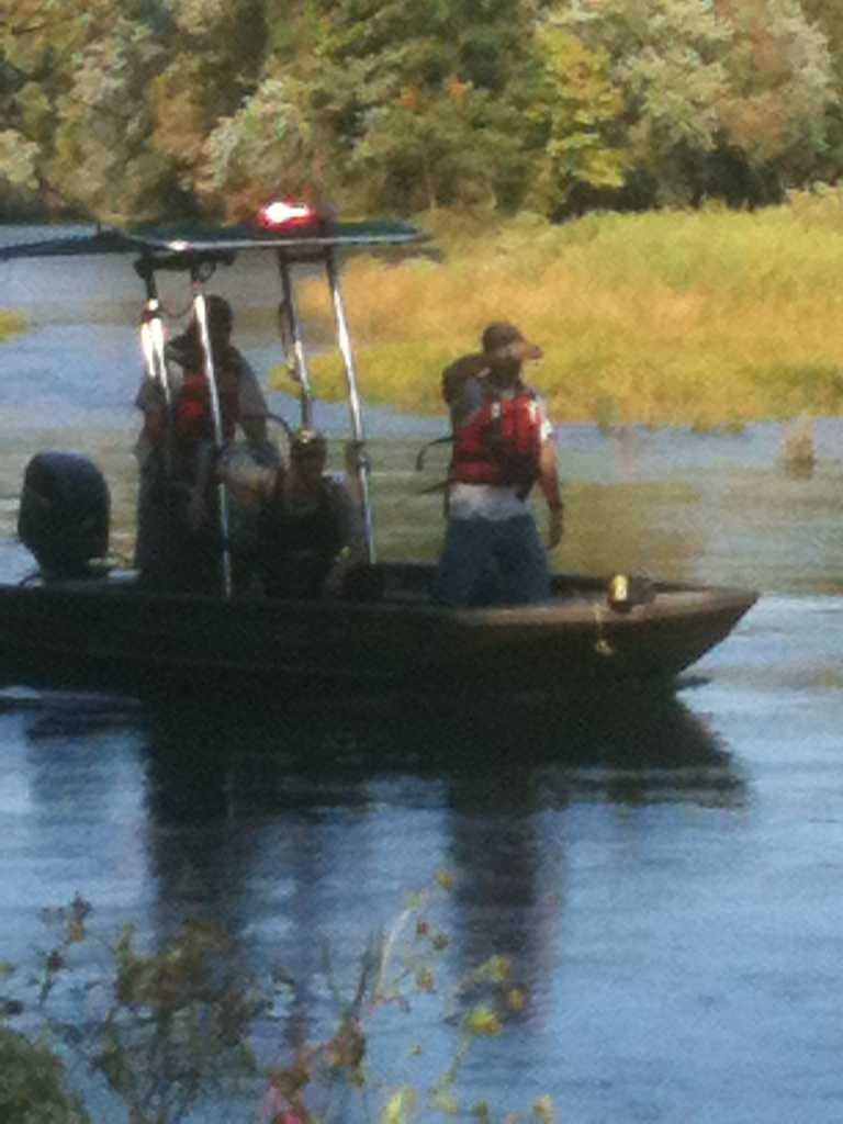 A man was rescued from the Illinois River near Lake Tenkiller Tuesday, said Sequoyah County Sheriff's department. They said the man was swept into the river when water was released from the dam.