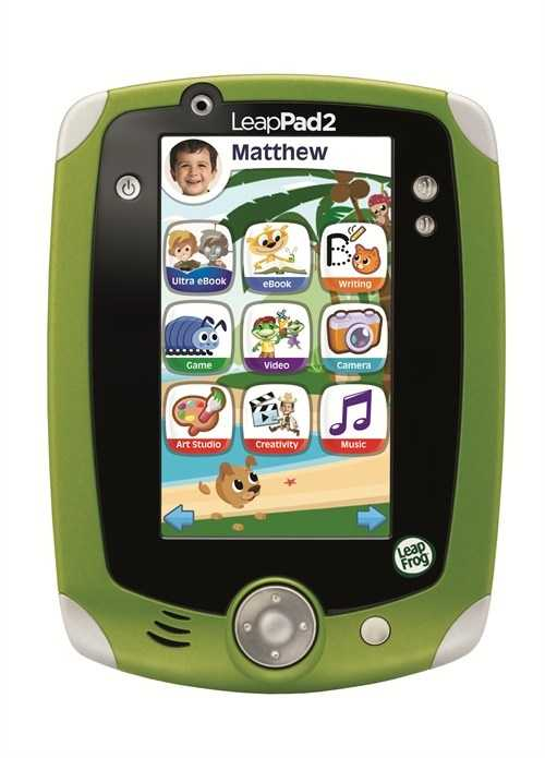 LeapFrog LeapPad2 Explorer Learning Tablet: The number one learning tablet just got better. LeapFrog LeapPad2 Explorer inspires kids to imagine and explore with front-and-back cameras and video recorders, 4 GB of memory and a library of more than 325 cartridges and downloadable apps, including eBooks, videos, music and more.