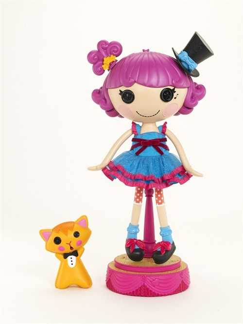 Lalaloopsy Silly Hair Star Harmony B. Sharp Doll: The Lalaloopsy hair doll loves to sing, dance and put on shows. Sing along with her to lots of your favorite songs with a Lalaloopsy twist. Change her hairstyle to watch the Lalaloopsy hair doll perform a new song. Check out all the Lalaloopsy dolls at Walmart.com