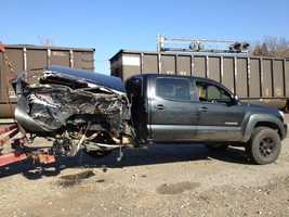 Emergency responders in Dora, Oklahoma were called to a train vs. car accident Tuesday. They said the train hit a car on the railroad tracks. No injuries were reported.