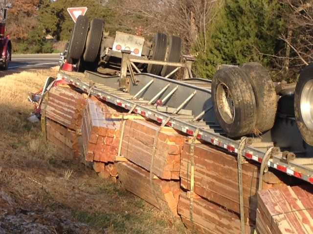 Police have not released details as to what caused the accident or the condition of the driver.