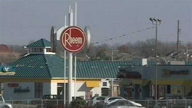 Rheem Manufacturing plans to layoff workers.