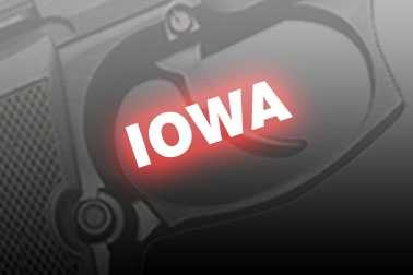 28. Iowa, NICS background checks per 100k residents: 8,524