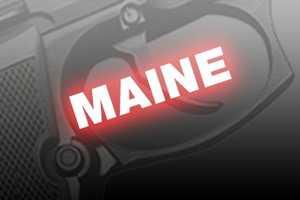 26. Maine, NICS background checks per 100k residents: 8,629