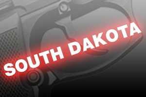 8. South Dakota, NICS background checks per 100k residents: 13,624