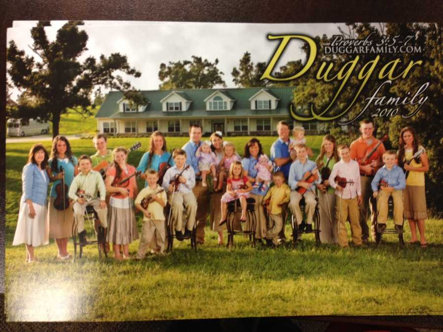 The Duggar's Family Photo