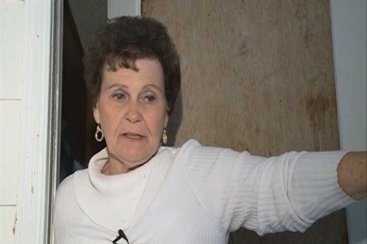 Betty Davis told a bank employee what was happening. Davis was interviewed by 40/29, the story made national news.