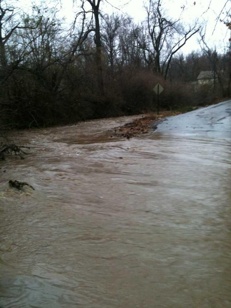 Swift Water Rescue, Fayetteville near Frisco Bridge