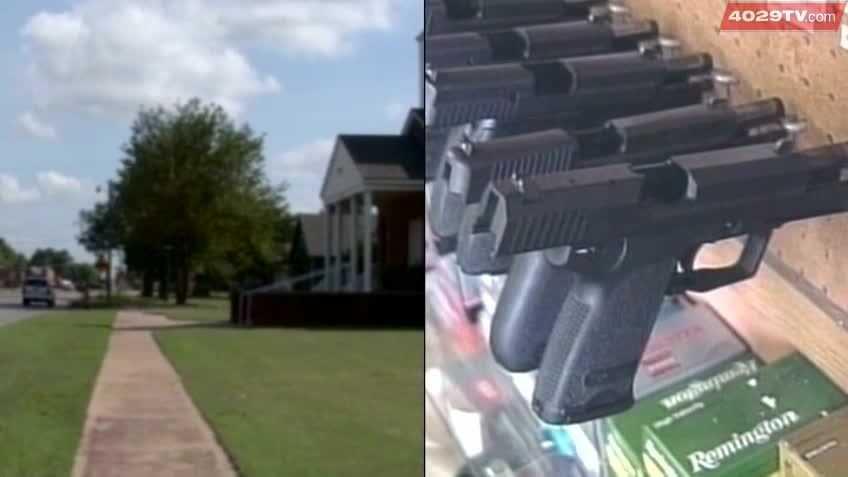 (img1)Pastor calls guns in church bill crazy
