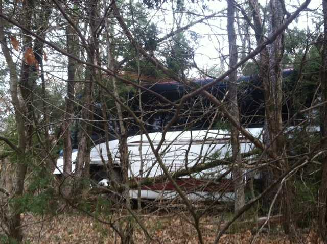 State Police said seven people were sent to the hospital with minor injuries.