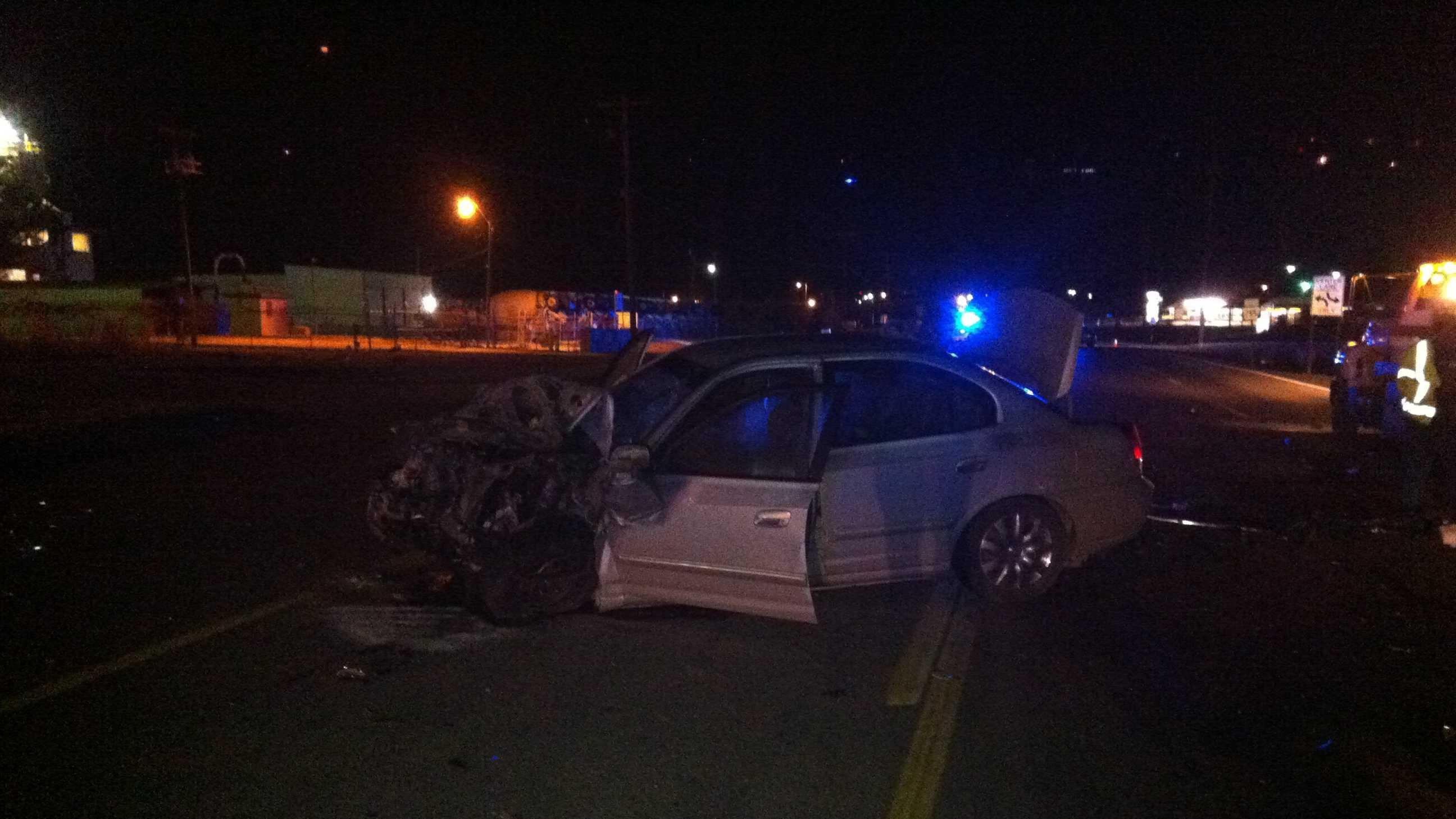 Accident shuts down Zero Street