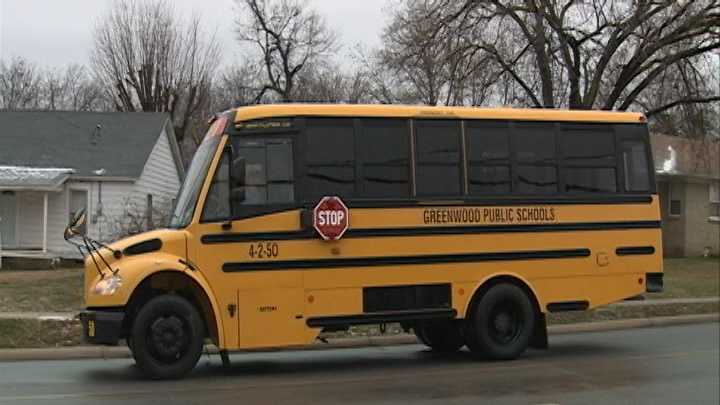 Greenwood School Bus