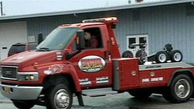 Tow truck drivers ready for winter weather