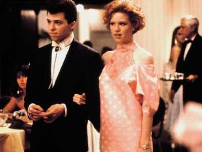 My favorite move of all-time?  Pretty in Pink.  Great soundtrack and I love romantic comedies.
