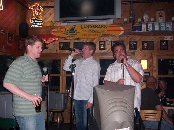I was a karaoke host while working my way through school.   It's how I met my wife, Carol.  And yes, I can sing.