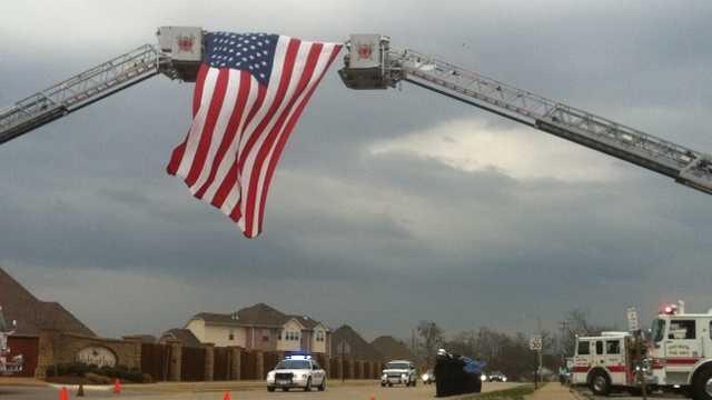Community remembers Sebastian County Deputy Terry Johnson who died last week in on-duty car crash.