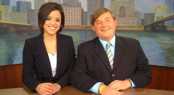 """5. Kelly started doing the morning announcements in fourth grade, and continued all the way through high school. In college, Kelly anchored Point Park University's newscast """"Point News Now."""""""