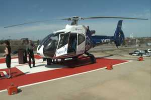 "The helicopter is nicknamed ""The Spirit of Mercy."""