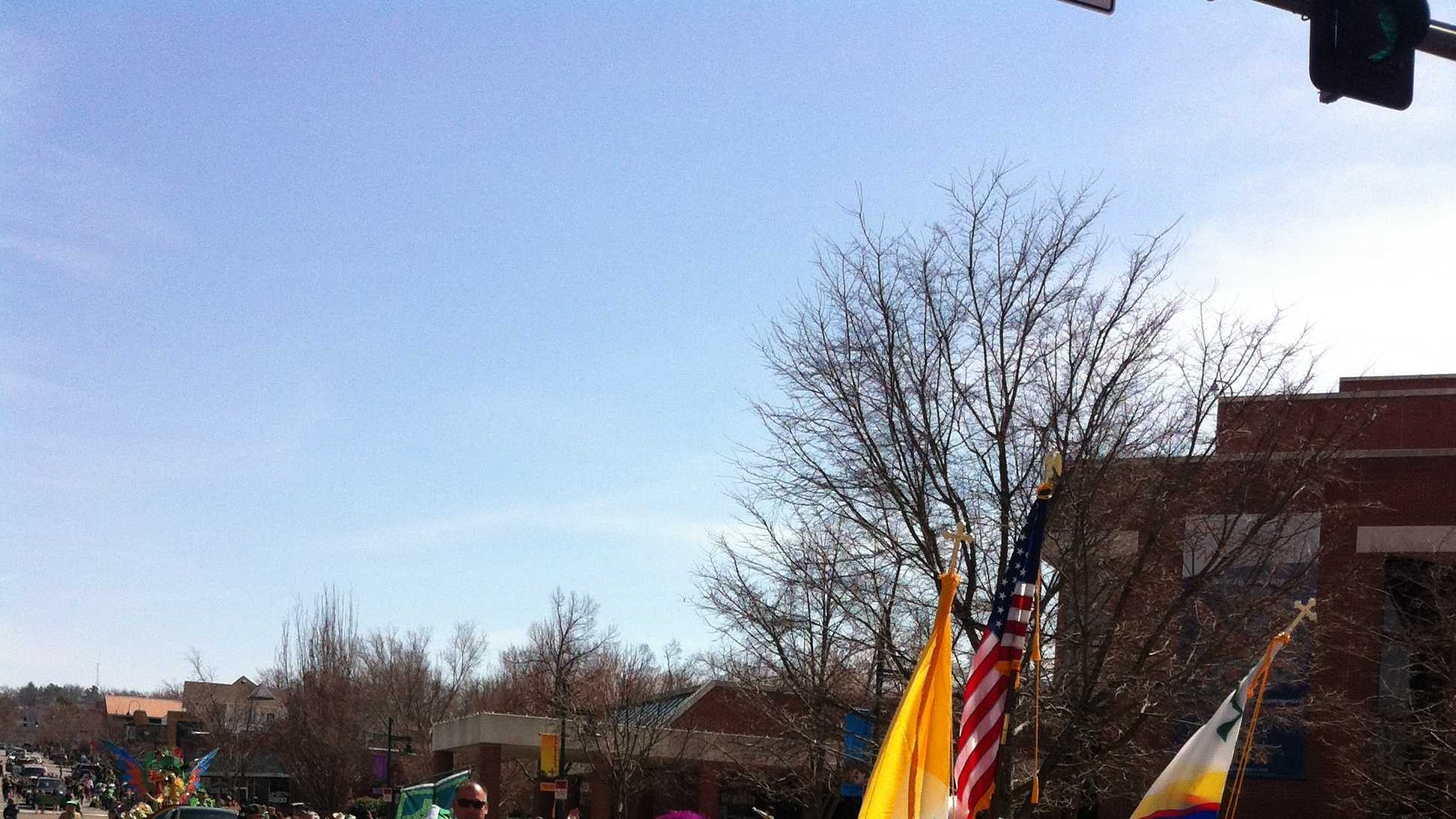 Flags missing from local parade