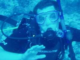 I really enjoy exploring the environment. There is a wild world beneath the ocean, and when you scuba dive you become part of it. I learned to scuba dive at Beaver Lake. Scuba diving is also great way to support eco-tourism which helps to sustain the environment and local economies.