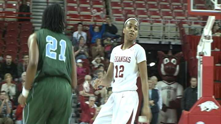 Arkansas guard Dominique Wilson