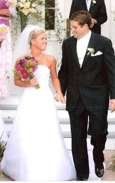 4. I married my best friend in my hometown of McKinney, Texas 7 years ago. He's the funniest person I know.