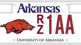 Ark license plate
