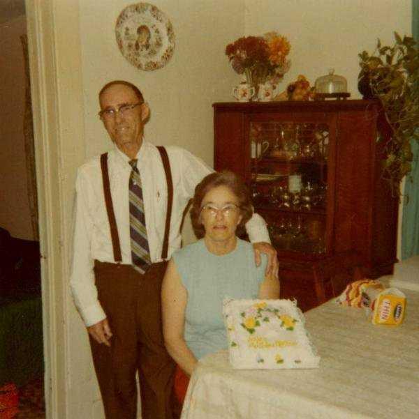 11. Derek's middle name is Vestel. Vestel and Dorothy Blackwood are his late grandparents.