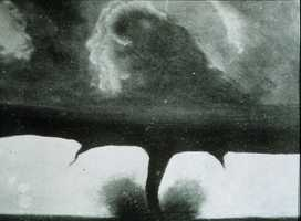 Taken on August 28, 1884, this is the oldest known footage of a tornado. It was taken in South Dakota, 22 miles southwest of Howard.