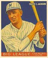 9. JacksonTravis Jackson was born in Waldo, Ark. He played for the New York Giants from 1922 to 1936. They won the World Series in 1933 and he was an All-Star in 1934.