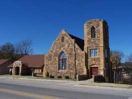 9. MadisonThe historic United Methodist Church in Huntsville, Madison County.