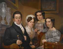 6. AbigailAbigail Thomas is the girl holding the letter in this 1830 painting by Edward Dalton Marchant that hangs in the Crystal Bridges Museum of American Art in Bentonville.
