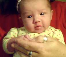 3. AvaA uLocal viewer sent us this photo of Ava at 7 weeks old in Elkins.