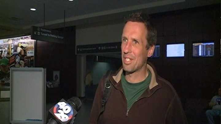 Local marathon runner, Tom Brennan, is safe after two explosions riddled the Boston Marathon Monday. Brennan spoke with 40/29 News after he landed safely at the Tulsa International Airport Monday night.