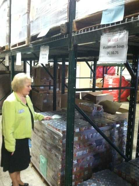 Marge Wolf is the President/CEO of the NWA Food Bank.