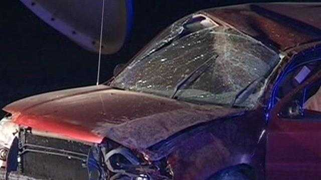 Overnight rollover accidents may have involved drunk drivers
