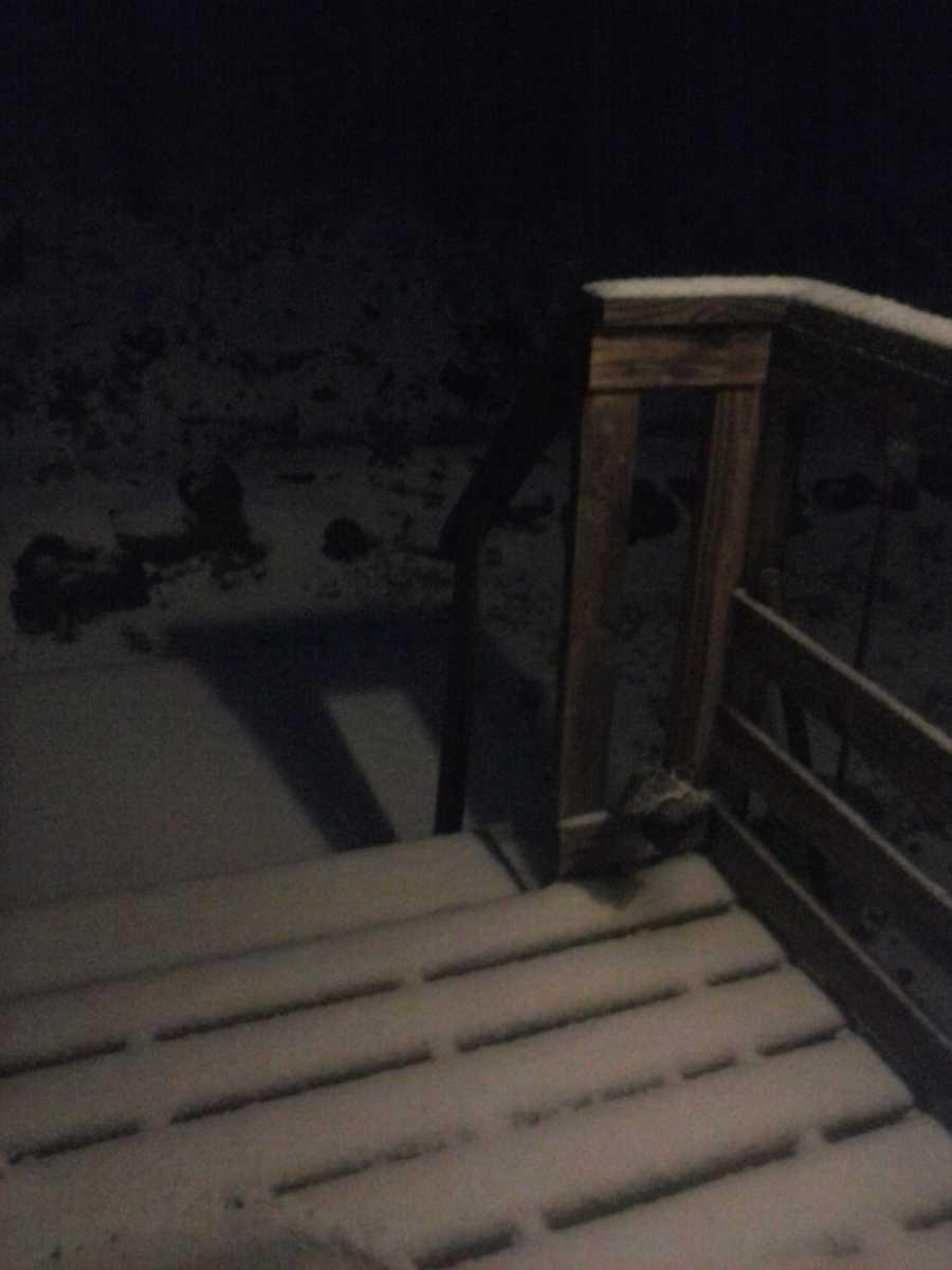 Snow in St. Paul.
