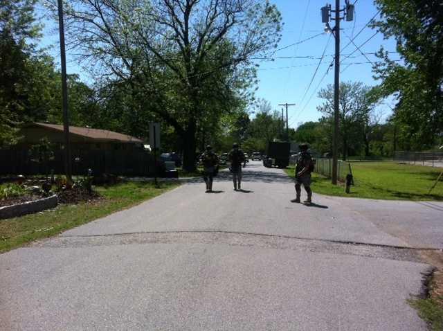 SWAT team in Gravette