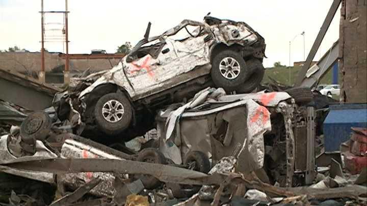 Moore car damage