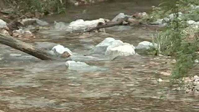 Two days of rain have swollen creeks and put emergency crews on alert.