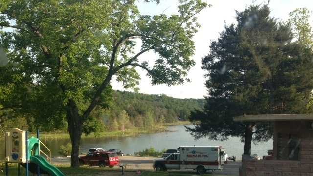 Saturday, a man disappeared in the waters at the Rocky Branch Marina. Dive teams are on their way to search.