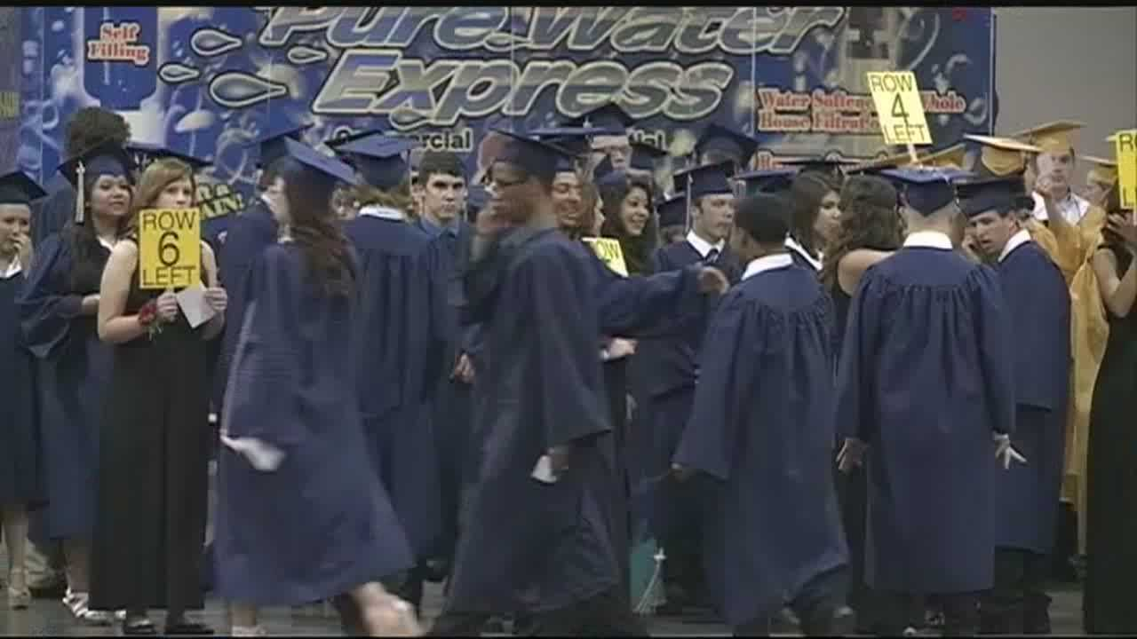 Even at the time most high school graduates think about the future, students graduating from Moore High School are still focused on their community.