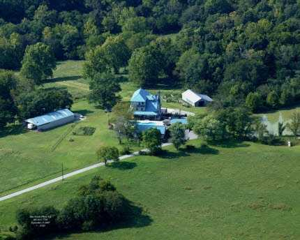 This 6,849 square foot home features six bedrooms, eight bathrooms, and sits on 167 acres.