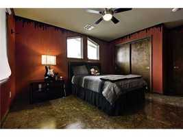 Check out this funky bedroom design!